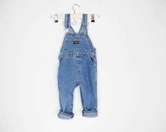 vintage Osh Kosh unizex jean overalls