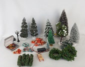 Vintage Dollhouse Christmas Decorations