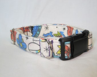 Sailor Tattoo Print Collar