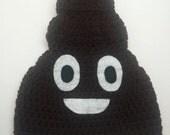 Crochet Poop Hat / Handmade Poop Hat / Funny Hat / Poop Beanie / All Sizes Baby Kids Adult