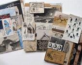 Exquisite Vintage Paper Pack - Drawings, graphics, designs, patterns, engravings