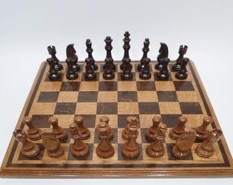 Stonewall Jackson Prayer Tree Chess Set