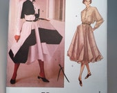 90s Issey Miyake Skirt & Top  - Vogue Designer Pattern  - 1160  - Size 16 Bust 38 - Unused