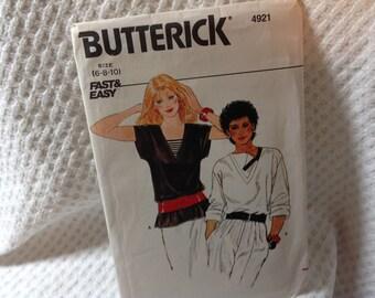 Butterick Pattern 4921, top