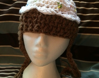 Hand Crochet Cupcake Hat