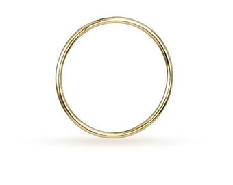 Stacking Rings 14Kt Gold Filled 16x1mm Size 3  - 4pcs (10522)/1