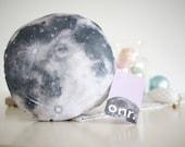 MOON pillow - Perfect Valentines Gift - cute lunar decorative cushion