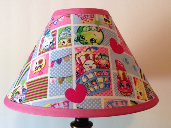 Shopkins Patchwork Children's Fabric Lamp