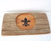 Cypress Centerpiece Bowl Holder Serving Platter Wooden Tray Table Top Decor