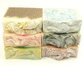 Soap of the Month Handmade Soap 12 Bars of Luxury Soap or You Pick 12 soap bars now Great for Christmas gifts
