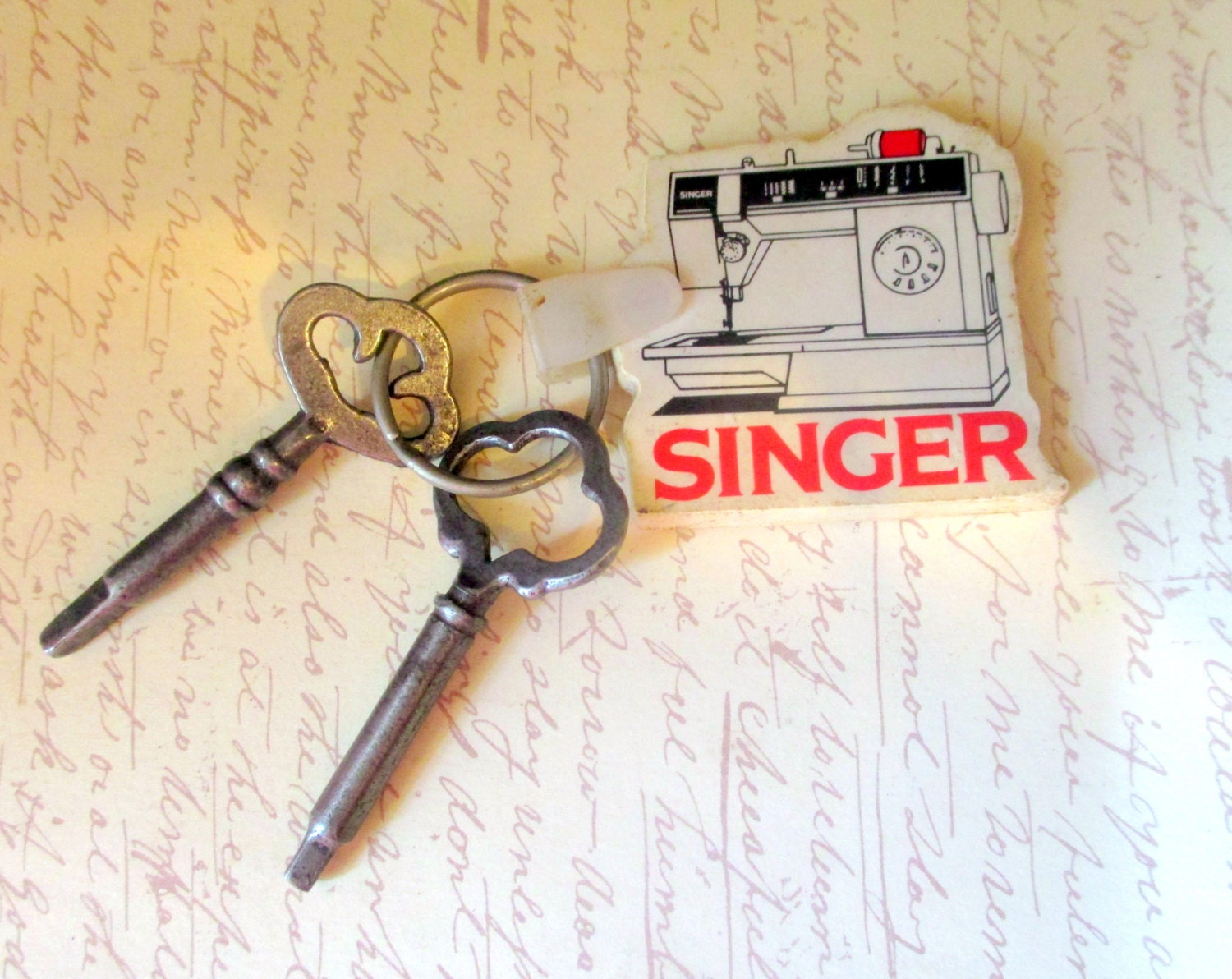 singer sewing machine key