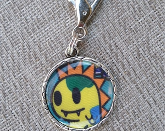 little e clip fob. Yellow baby Dinosaur. KJC. Tokidoki key fob. necklace charm
