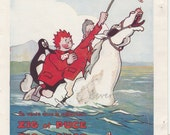 Original Vintage French Cartoon  Zig et Puce Alfred 1929