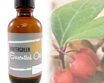 Wintergreen essential oil 16oz (FREE SHIPPING) ETSY