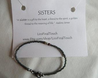Sisters Bracelet - Any Size
