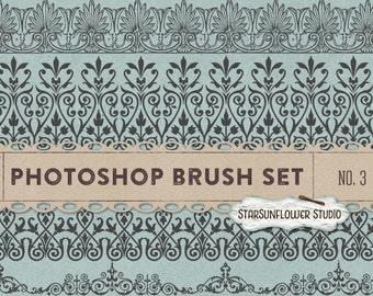 Photoshop Brushes Sweet Ornament Borders No. 3