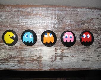 Pac Man Dresser Knobs