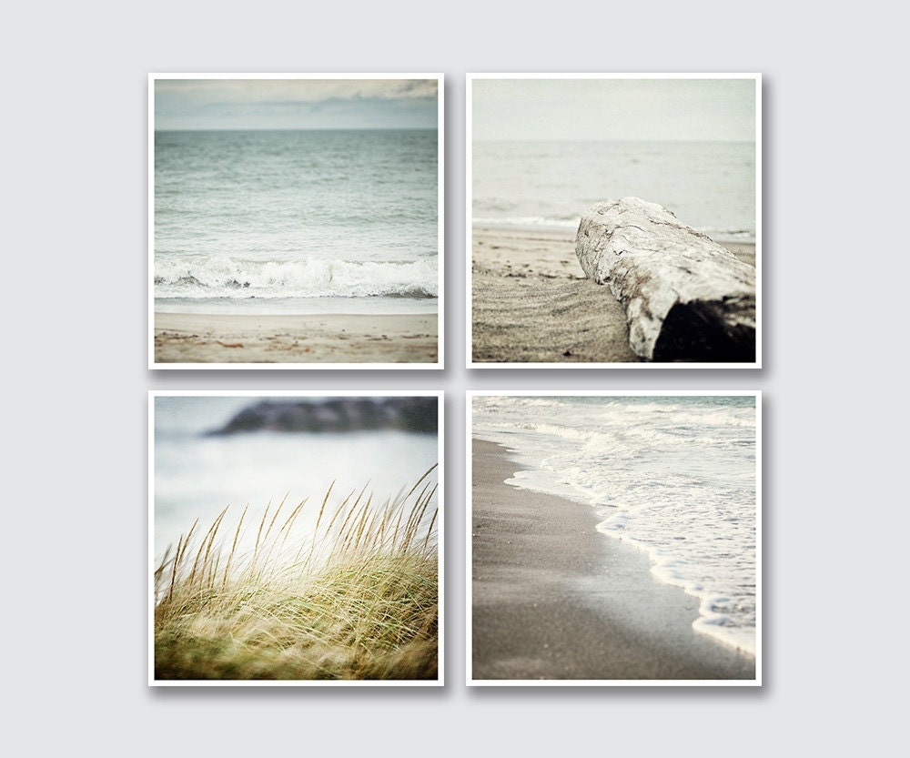 Square Beach Prints Or Canvas Art To Fit Ikea Ribba Virserum