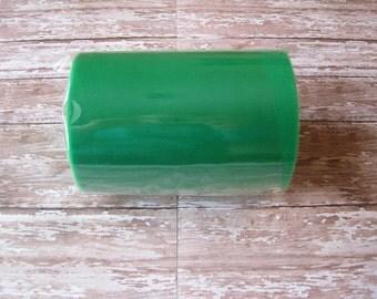 Emerald Green Tulle | 100 Yard Roll, 6 Inch Wide Emerald Green Nylon Tulle | Tutu Tulle