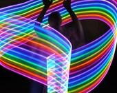 Neon LED Levitation Wand