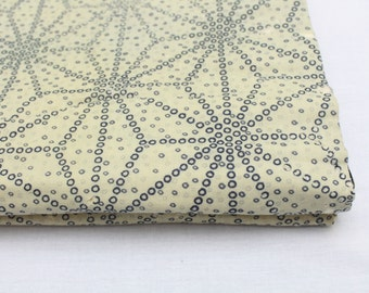 Vintage Japanese Obi. Silk Fabric Lined with Thick Handloomed Cotton. Geometric Stars (Ref: 1339)