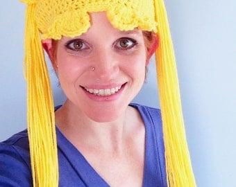 Sailor Moon Hat Pattern | Crochet Pattern | PDF
