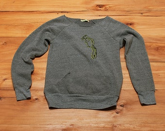 SALE Squirrel Sweatshirt, size small