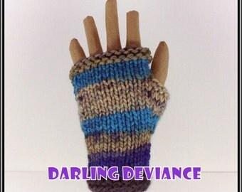 Fingerless Gloves - Cascade