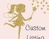 Custom order listing for Lara Mattey