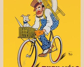 Pneu Velo Hutchinson Bicycle  Poster (#1112) 6 sizes