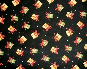 Christmas Fabric, By The Yard, Maywood Studio Fabrics, Christmas Classics Collection, Presents Gifts, Quilting Fabric, Sewing Fabric