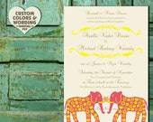 Modern Invitation Design Diy PRINTABLE GRAND ELEPHANTS Pdf Wedding Anniversary Engagement Party Bridal Baby Shower Template Birthday Indian