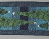 Winter Quilted Table Runner