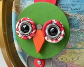 Bird Ornament - Hanging Decor - Found Object Decor by Jen Hardwick