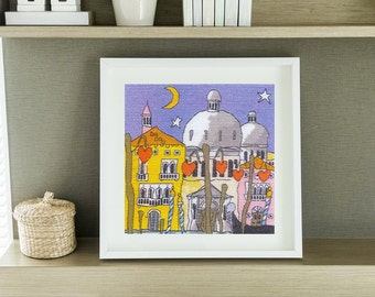 Cross Stitch Chart Venice Dome by Michael Powell