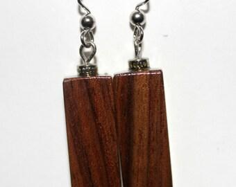 Black Walnut Earrings