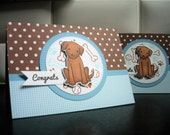New Puppy Card, New Dog Card, Congratulations on Your New Puppy Card