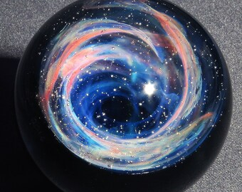 Wormhole Glass Marble