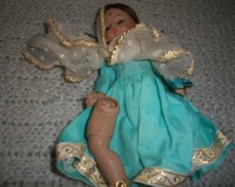 """9"""" Indian Composition Doll"""