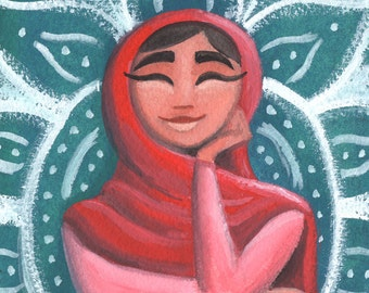 Malala Painting