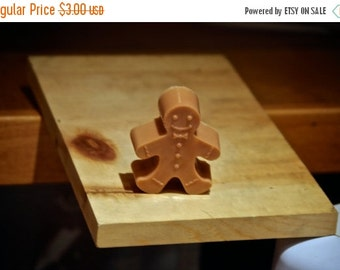 Christmas Sale Gingerbread Man Soap Gingerbread Boy Christmas Party Favor Xmas Stocking stuffer Gingersnap Cookie bath rustic winter holiday