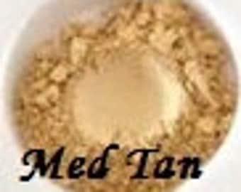 MEDIUM TAN Foundation Organic Beauty Mineral Cosmetics Vegan Gluten Free