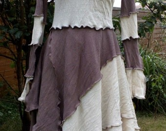 Long Patchwork Dress