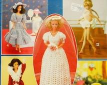 20%OFF Rare Leisure Arts Crocheted FASHION DOLL Clothes - Crochet Doll Clothes Clothing Patterns