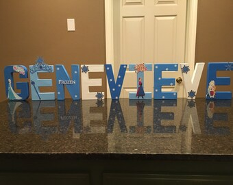 Frozen Custom Name Letters - price is per letter
