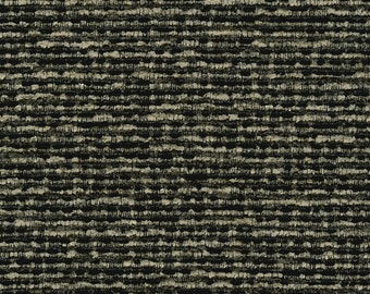 """29"""" x 56"""" - One Piece - Classic Soft Textured Chenille Upholstery Fabric - Mixed tones - Soft seat - Durable -  Color: Jinga Granite"""