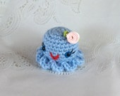 Mother's Day Gift Hand Crocheted Tiny Little Octopus - Amigurumi - made to order