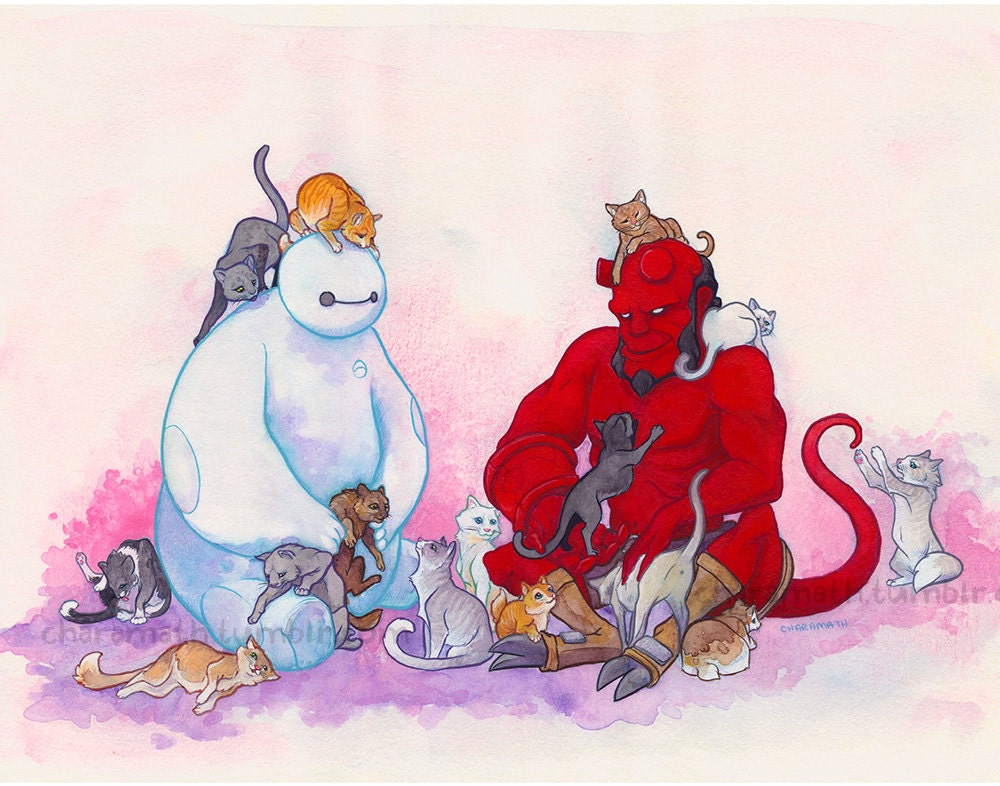 Why Does Hellboy Like Cats