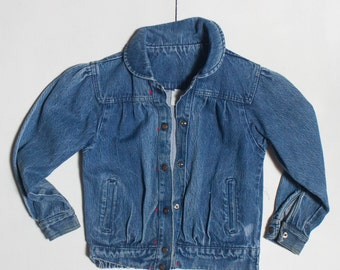 XS | 1980's Women's Denim Jacket