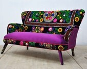 Suzani 2-seater sofa - Winter